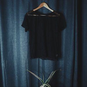 💥FLASH SALE💥 American Apparel Sheer Lace Top